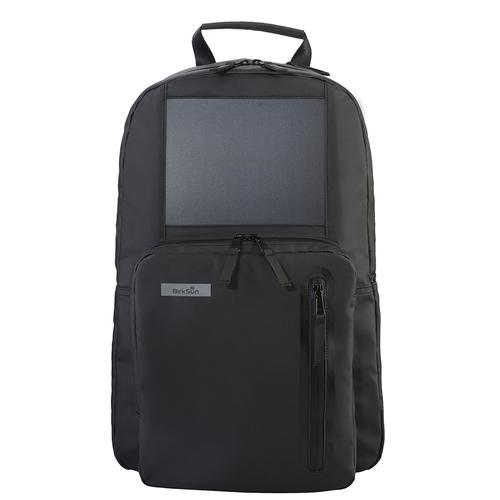 SOLAR CHARGING BACKPACK | BLACK