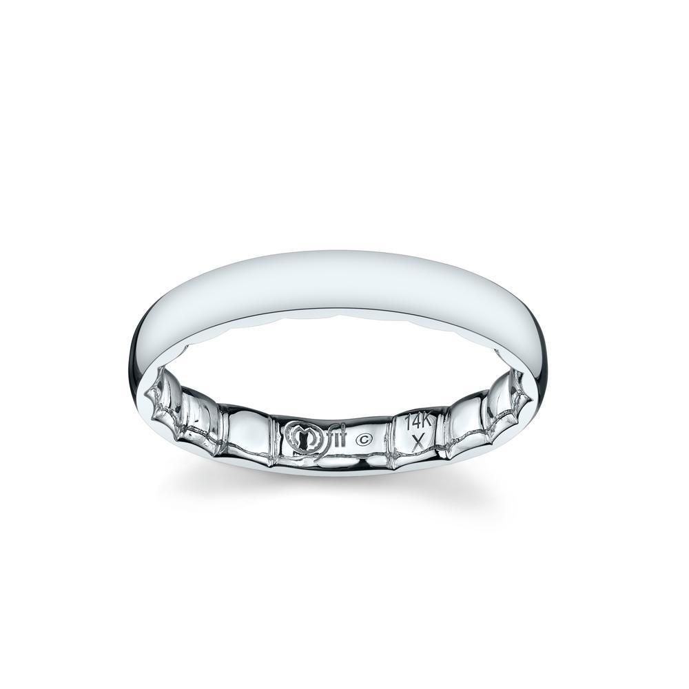 men 39 s mfit ring in 10k white gold mfit innovative rings. Black Bedroom Furniture Sets. Home Design Ideas