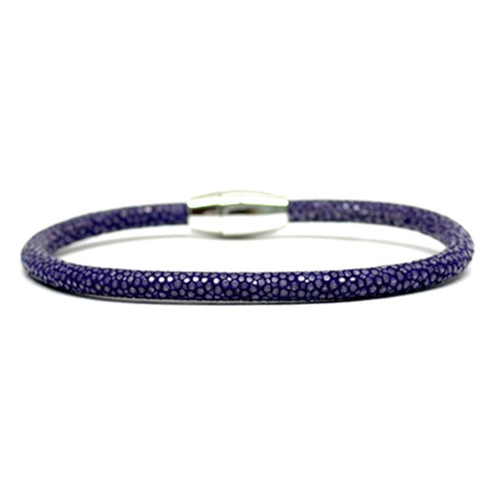 Single Stingray Bracelet | Purple | Double Bone