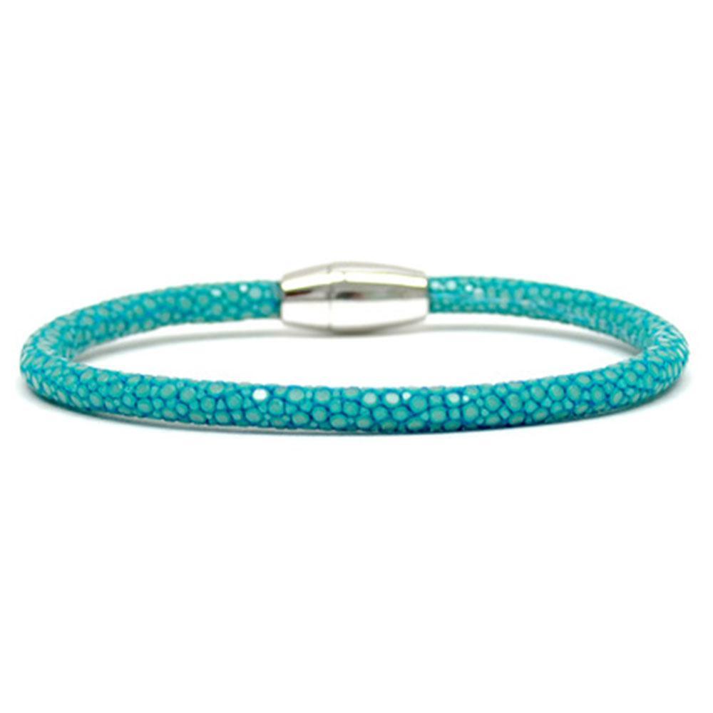 Single Stingray Bracelet | Turquoise | Double Bone