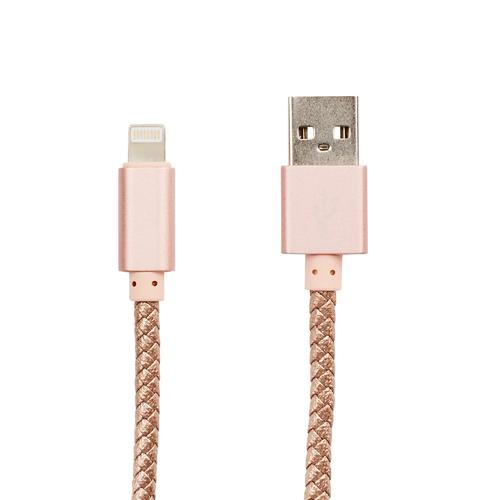 Braided USB Cable | Gold