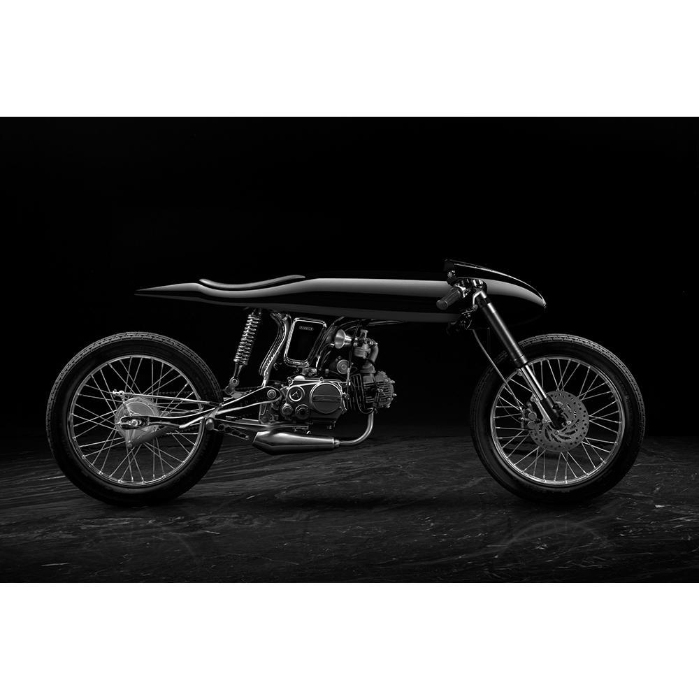 Eve | Black | Honda Supersport 125cc | Bandit9 Motorcycles