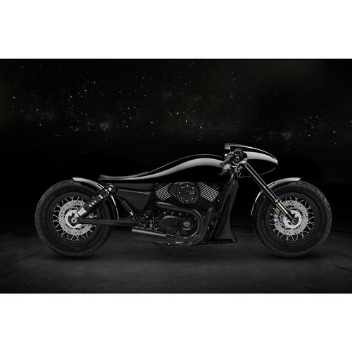 Harley Davidson Motorcycle | Dark Side