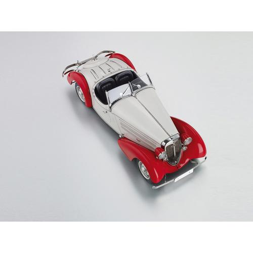 Audi 225 Front Roadster   1935   Red/White