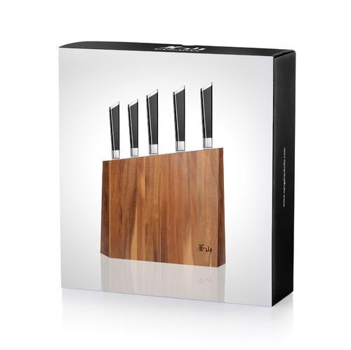 Y2 Series | 6-Piece Set | Acacia Wood Block | Cangshan
