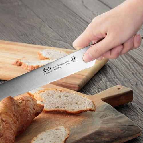 N1 Series 8-Inch Bread Knife   Cangshan