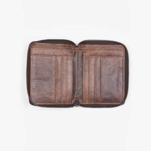 Leather Zip Around Wallet   Havoc   Cut N Paste