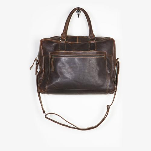 Leather Travel & Laptop Bag | Ford | Cut N Paste
