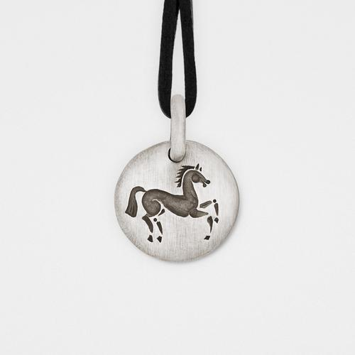 Horse Charm Pendant | Sterling Silver