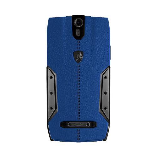 88 Tauri Smartphone | Blue Leather | Black