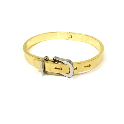 Buckle Bangle | Gold