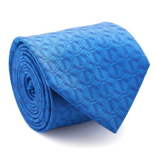 Necktie | Blue with Icon Pattern
