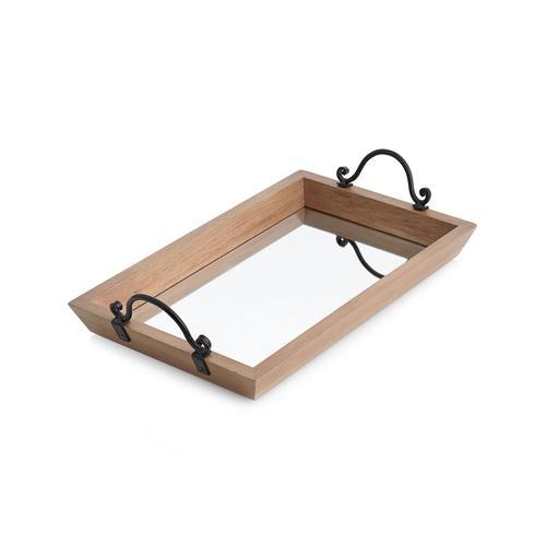 Lonestar Mirrored Tray