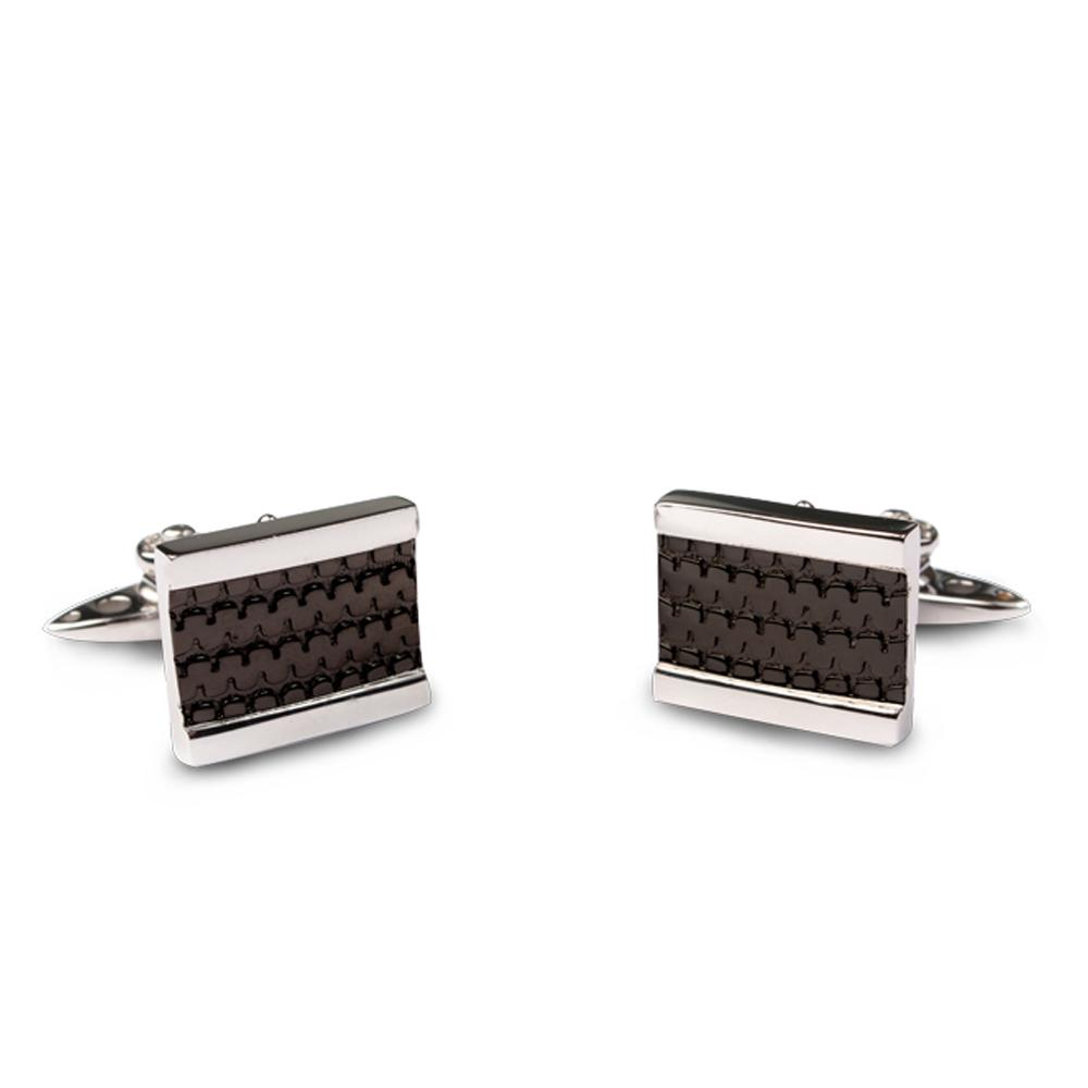 Steel Tread Cufflinks | GTO London