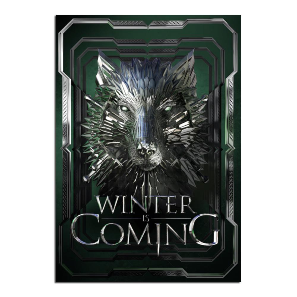 Winter Is Coming   Lynx Art