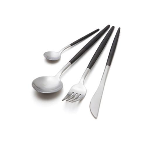 Ready to Serve | Silver & Black