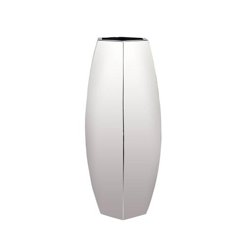 Stainless Steel   Bud Hexagon Vase