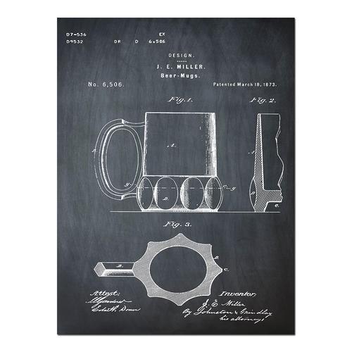 Beer Cooler - 1875 Chalk   Paper