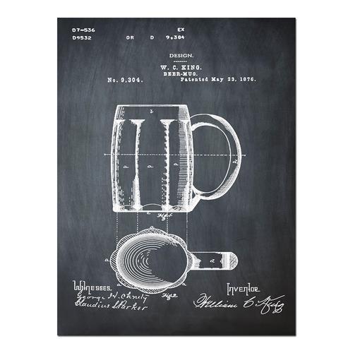 Beer Mug- Chalk   Paper