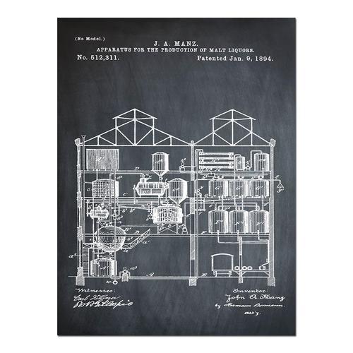 Brewing Malt Liquors-1891 Chalk   Paper