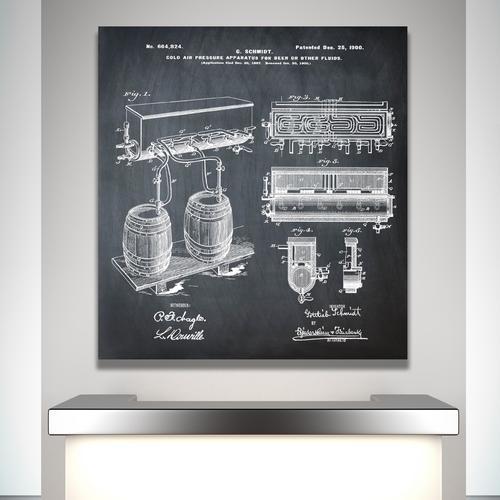 Schmidts Tap-1900 Chalk   Canvas