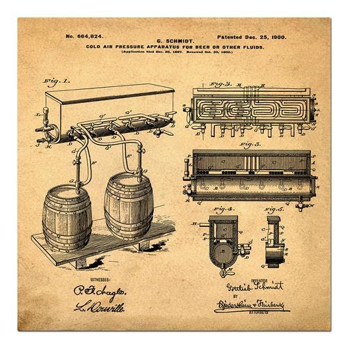 Schmidts Tap-1900 Sepia/Antique   Paper