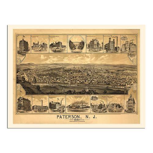 Paterson, NJ-1880 | Paper