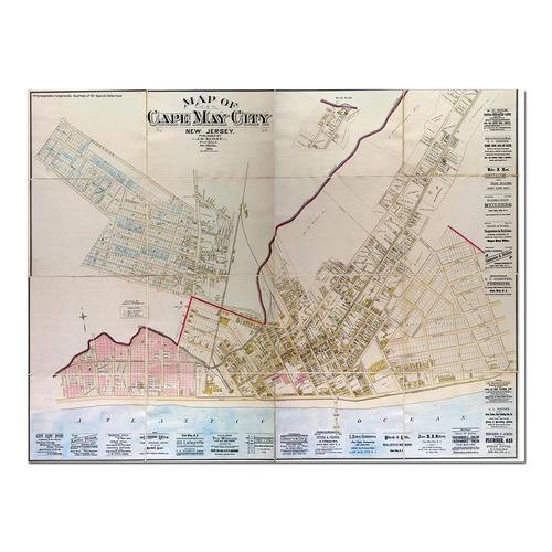 Cape May, NJ-1886 | Paper