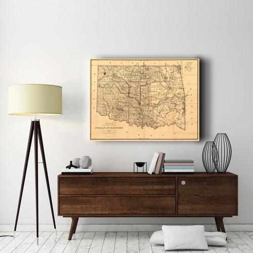 Indian Territory-1887 | Canvas