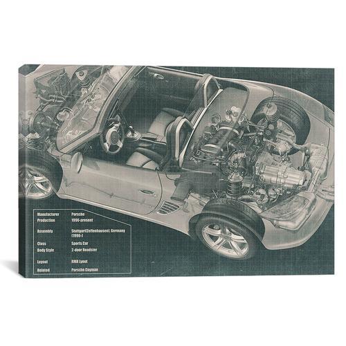 Convertible Engine X-Ray Blueprint #2