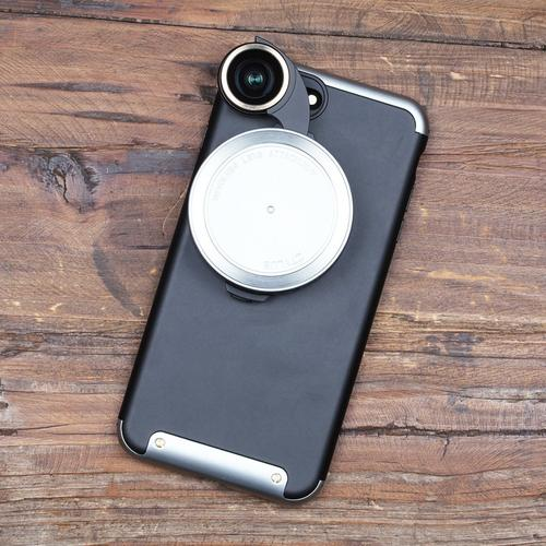 Revolver Lens Camera Kit for iPhone 7 Plus   Silver
