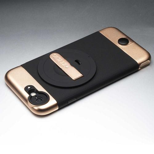 Rose Gold Case for iPhone 6/6s & RV-2 Lens