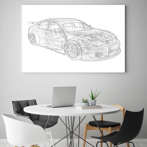 BTCC Proton | Canvas