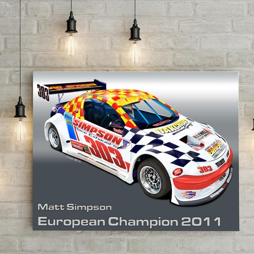 Matt Simpson National Hotrod UK I | Canvas