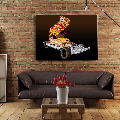 Tom Harriss Shale   Canvas