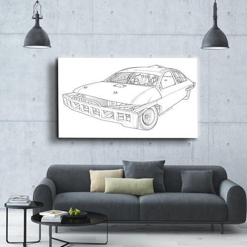 Stock car  I   Canvas