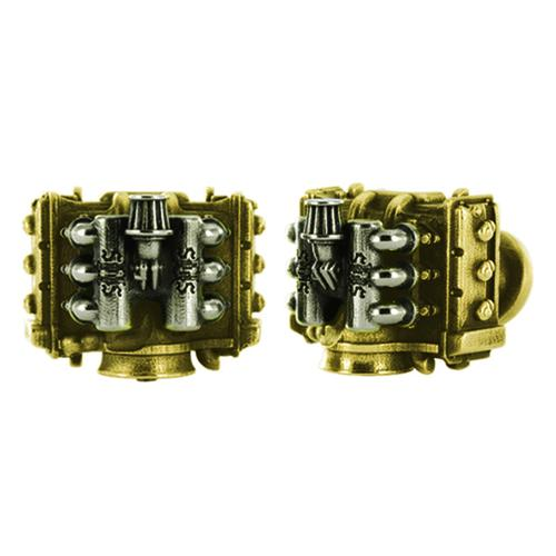 Cufflinks Flat Six Racing