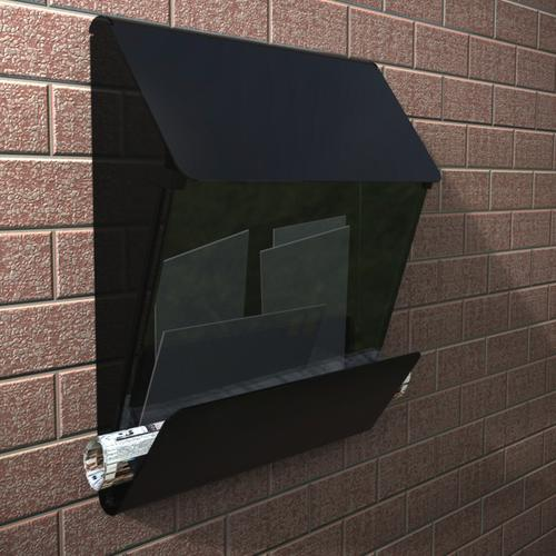 X Press Mailbox in a Black Finish
