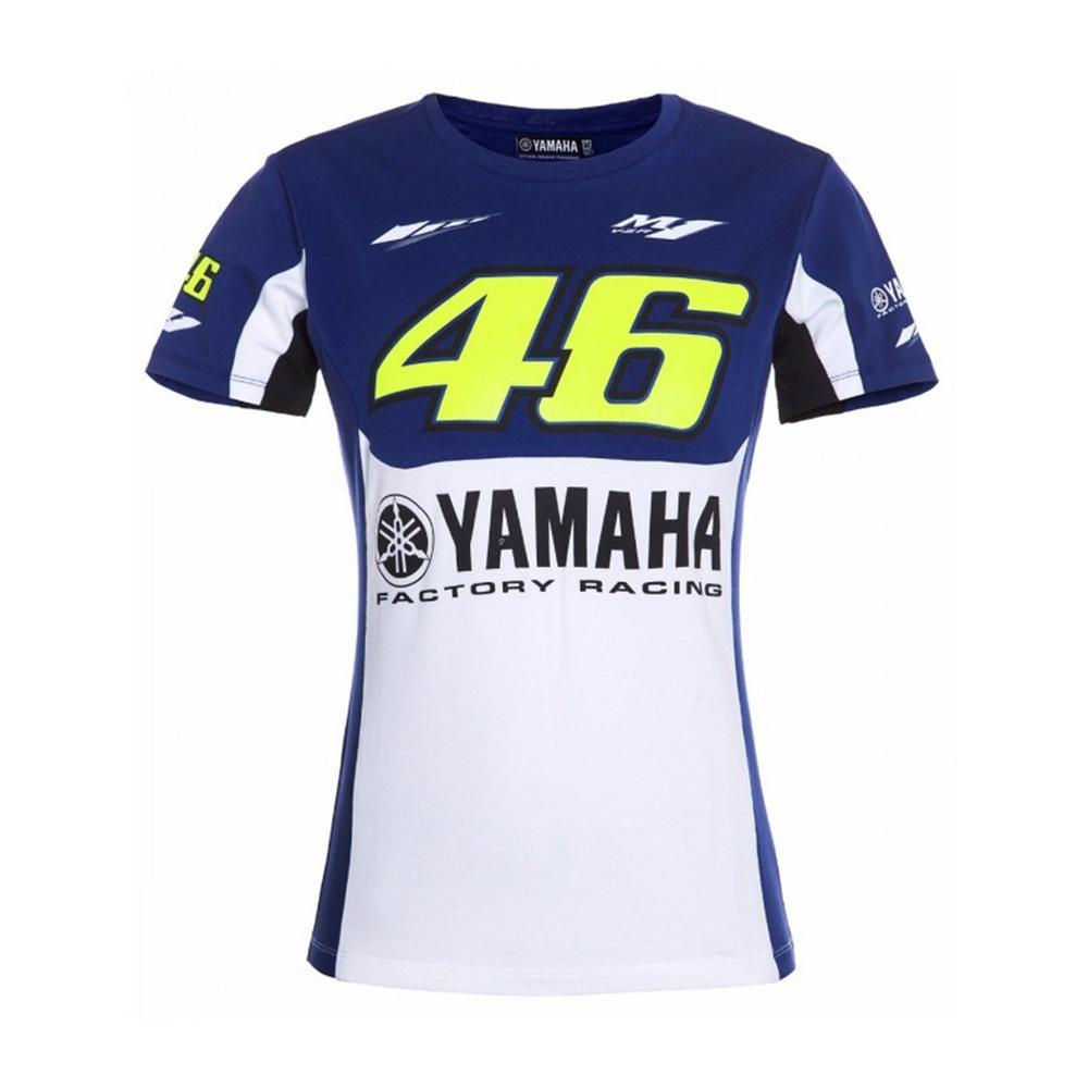 yamaha valentino rossi t shirt women moto gp apparel. Black Bedroom Furniture Sets. Home Design Ideas