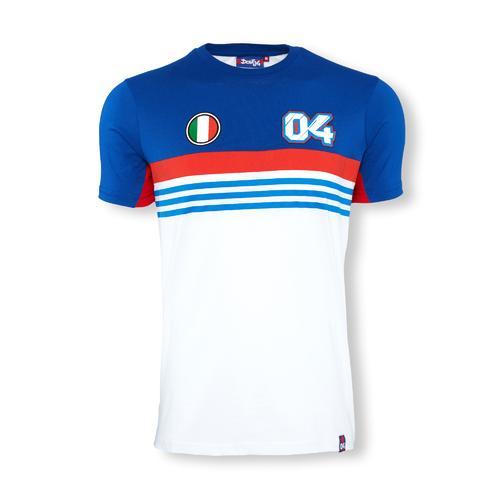Andrea Dovizioso 2016 04 Striped T-Shirt