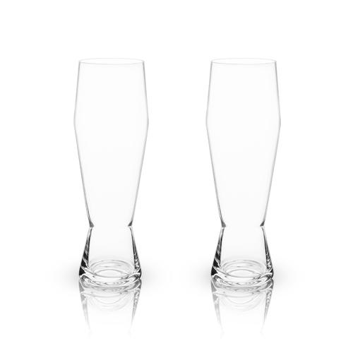 Crystal Weizen Glasses