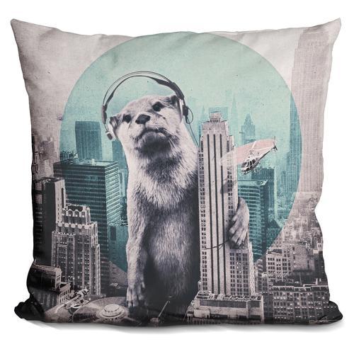 'DJ tap' Throw Pillow