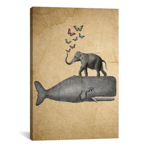 Elephant On Whale