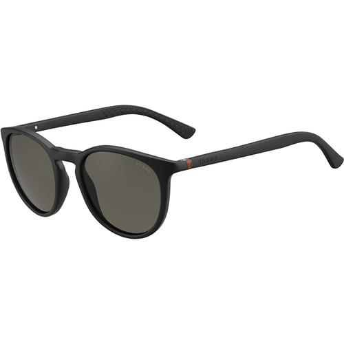 Round Sunglasses with Matte Black frames and Grey lenses