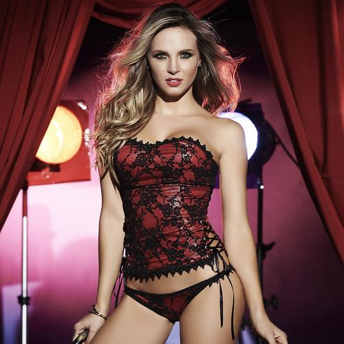 Bustier | Red