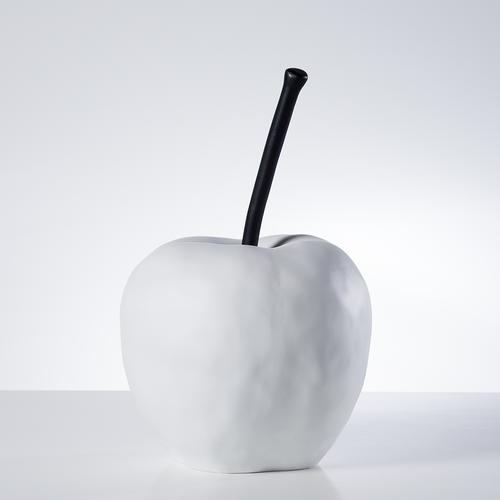 Grand Apple Oversized Resin Decor Statue