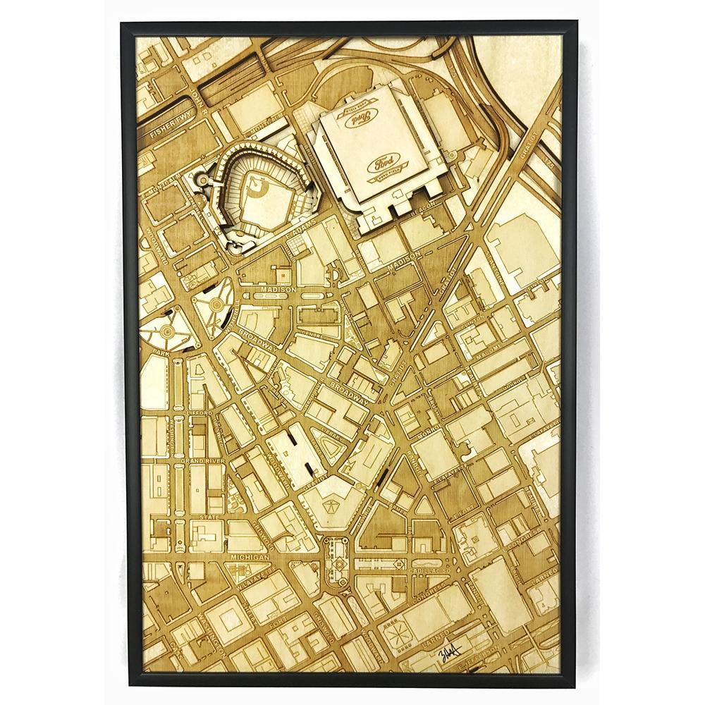 3D Stadium Maps | Detroit, MI