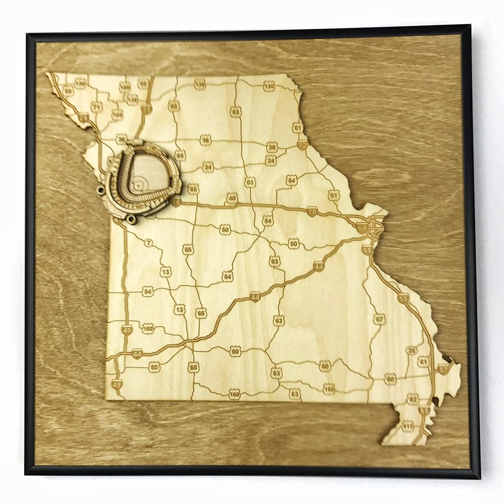 3D Stadium Maps   Missouri, Kansas City (Kauffman Stadium)