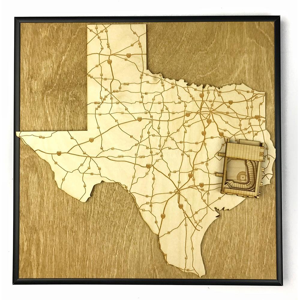 3D Stadium Maps | Texas, Houston (Minute Maid Park)