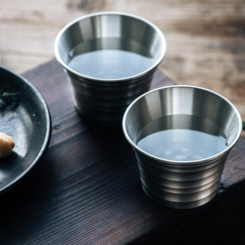 Pure Tin Straight Glass | Woo Collective Barware